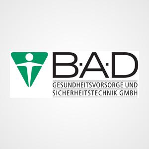 Logo BAD Gesundheitsvorsorge und Sicherheitstechnik